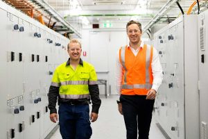 Siemans creates world first at Aripower Chaters Towers plant