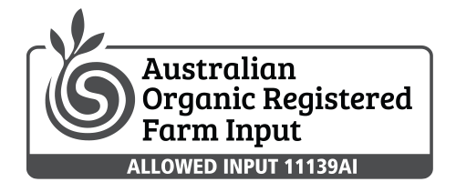 Agripower Certifications, Australian Organic Registered Farm Input