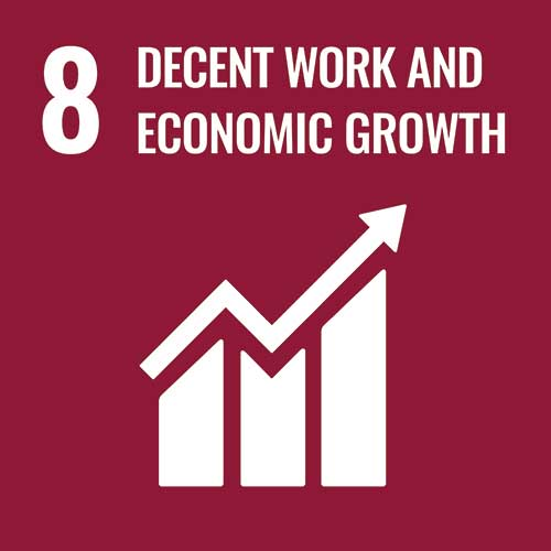 UN Sustainable Development Goals, Economic growth